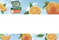 Упаковка для апельсинов GlobalVillage