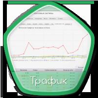 Статистика продвижения по трафику pegasltd.com.ua