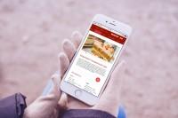 "■ [INTERFACE]__Mobile_App_Кулинарный блог ""Вкусный блог"""