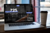 ► [WEB—DESIGN]__Сайт для службы вызова такси