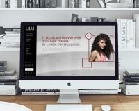 ► [WEB—DESIGN]__Сайт для салона-красоты LILU