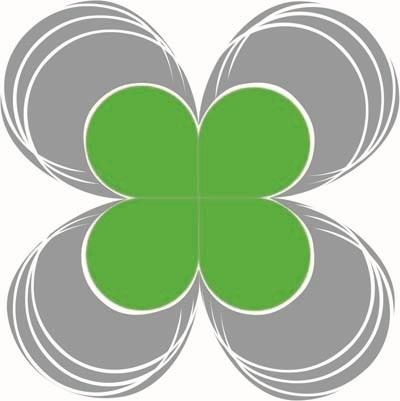 Разработка логотипа  TRIUMPH MEDIA с изображением клевера фото f_507434336d067.jpg