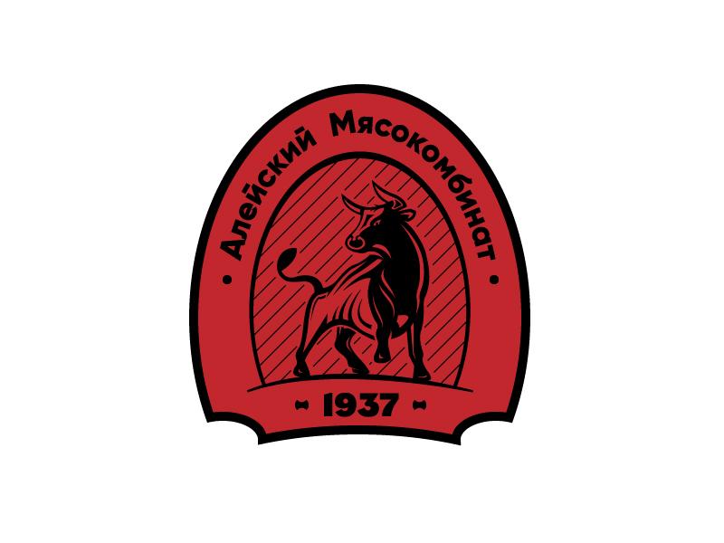 "Разработака логотипа для ООО ""Алейский мясокомбинат"" фото f_3385b20152917664.jpg"