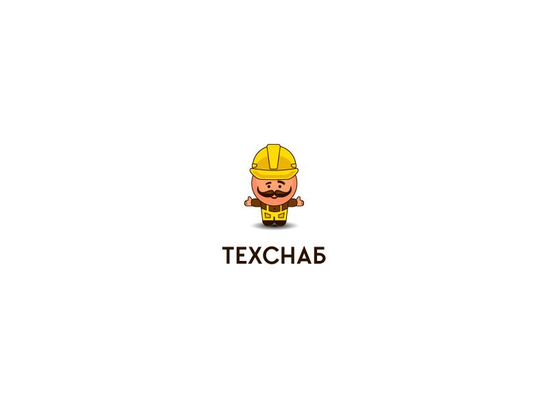Разработка логотипа и фирм. стиля компании  ТЕХСНАБ фото f_5575b1e9f1137363.jpg
