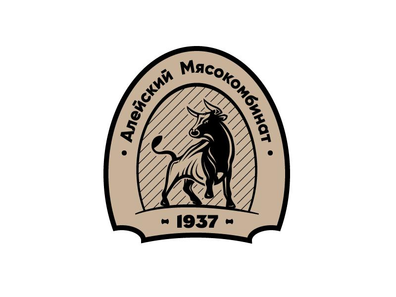 """Разработака логотипа для ООО """"Алейский мясокомбинат"""" фото f_6425b20155ab1b06.jpg"""