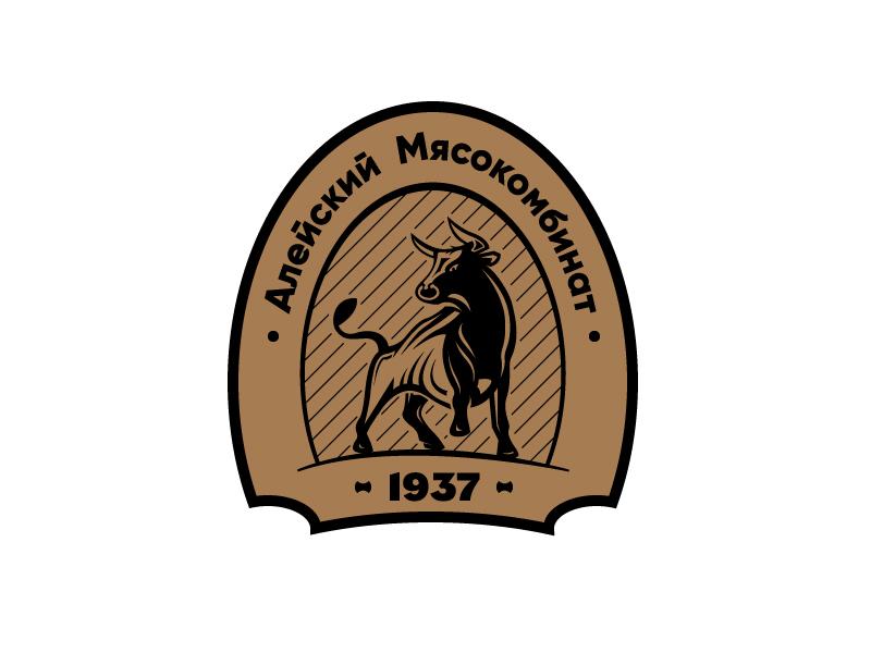 "Разработака логотипа для ООО ""Алейский мясокомбинат"" фото f_8585b201468a7462.jpg"