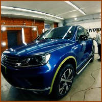 Полировка автомобиля VW TOUAREG. Ролик для компании GATEWORX.