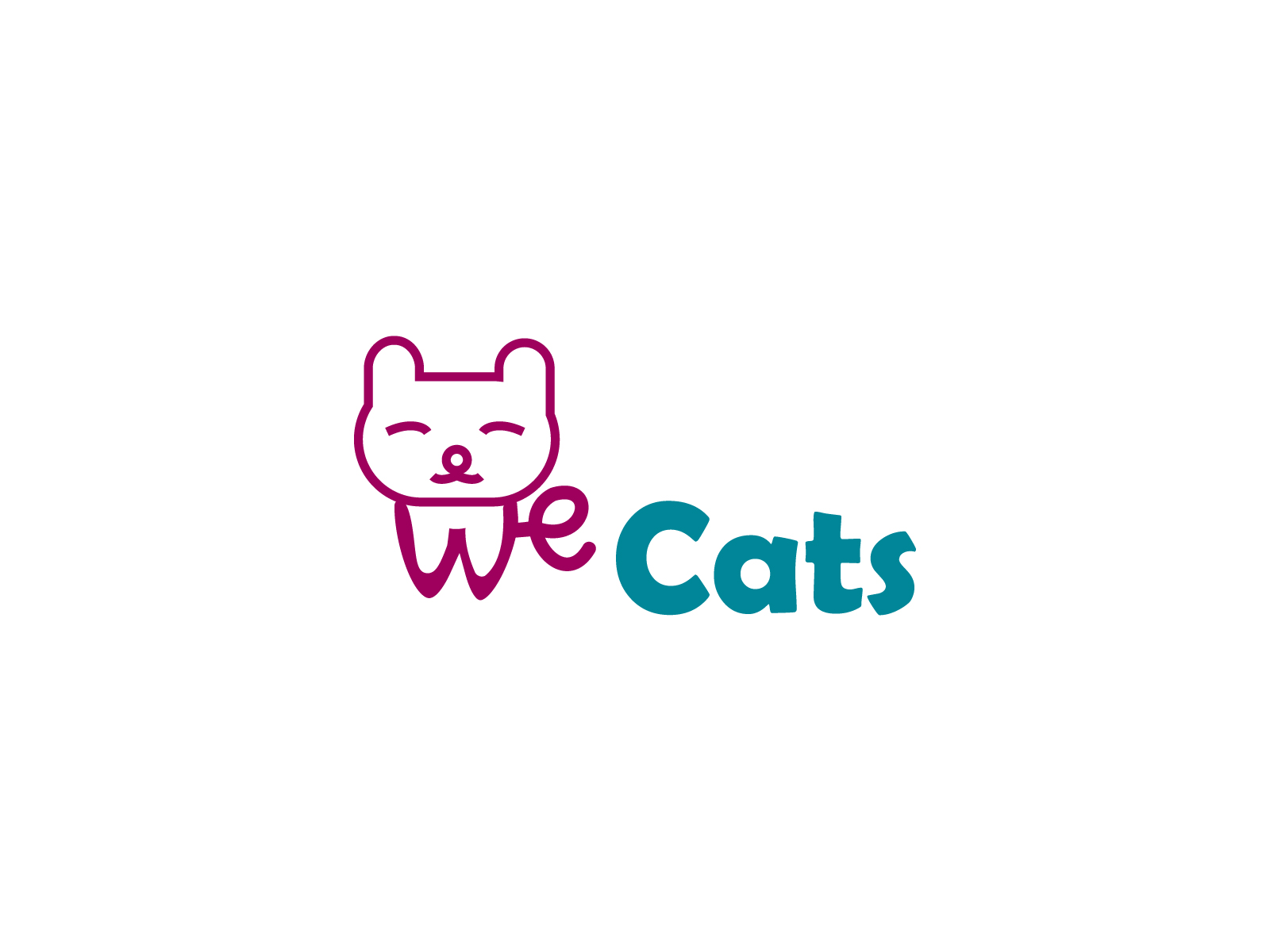 Создание логотипа WeCats фото f_1765f1da6d21d752.jpg