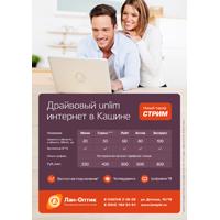 Интернет-провайдер «Лан-Оптик» (листовка)