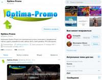 Продвижение сайта компании в сервисе микроблогов Twitter.