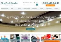 Оптимизация и продвижение сайта по производству и монтажу натяжных потолков