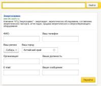 Адаптация сайта под поисковые формулы Яндекса и Google. Разработка Яндекс.Острова: