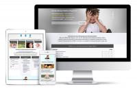 Адаптивная html верстка одностраничника на медицинскую тематику