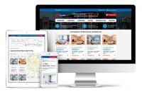 Адаптивная верстка сайта по подбору квартир. PSD to HTML