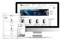 Редизайн и верстка шинного сервиса BSHINA. Адаптив, Bootstrap