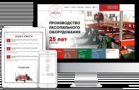 Корпоративный сайт-каталог компании