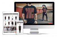 Интернет магазин популярного бренда одежды. CMS Joomla