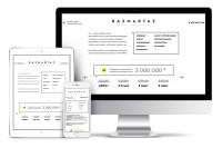 Промо - страница для digital-агентства. Адаптивная html верстка