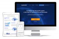 Верстка сайта для Криптовалютной организации