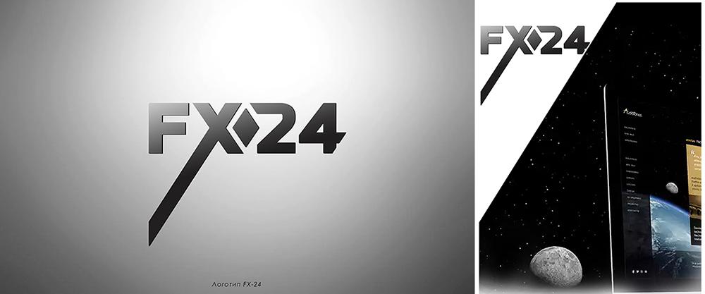 Разработка логотипа компании FX-24 фото f_49654604832b8e98.jpg