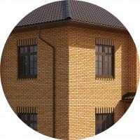 Подбор кирпича на фасад дома