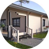 Дизайн и Визуализация 1 этажного домика с интерьером