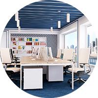 Коммерческая визуализация Дизайн кабинета (творческий коллектив)