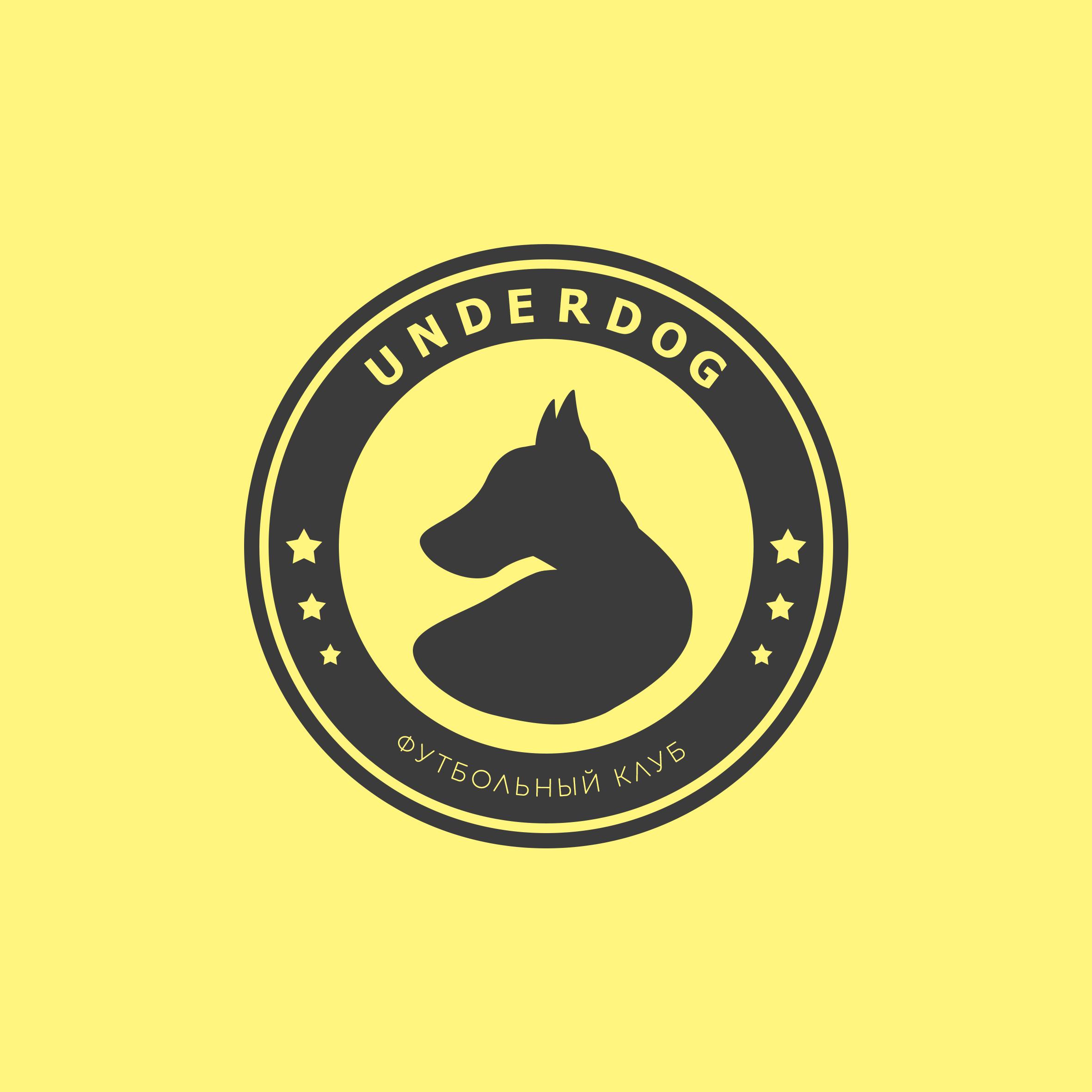 Футбольный клуб UNDERDOG - разработать фирстиль и бренд-бук фото f_7205caf001b9a8a9.jpg