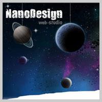 Сайт веб-студии «NanoDesign»
