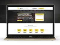 Дизайн сайта визитки (простой дизайн сайта)
