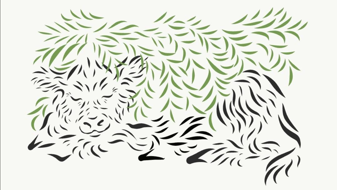 Создать рисунки быков, символа 2021 года, для реализации в м фото f_3295ee72e2f47932.jpg