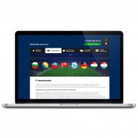 Спорт вояж - дизайн сайта