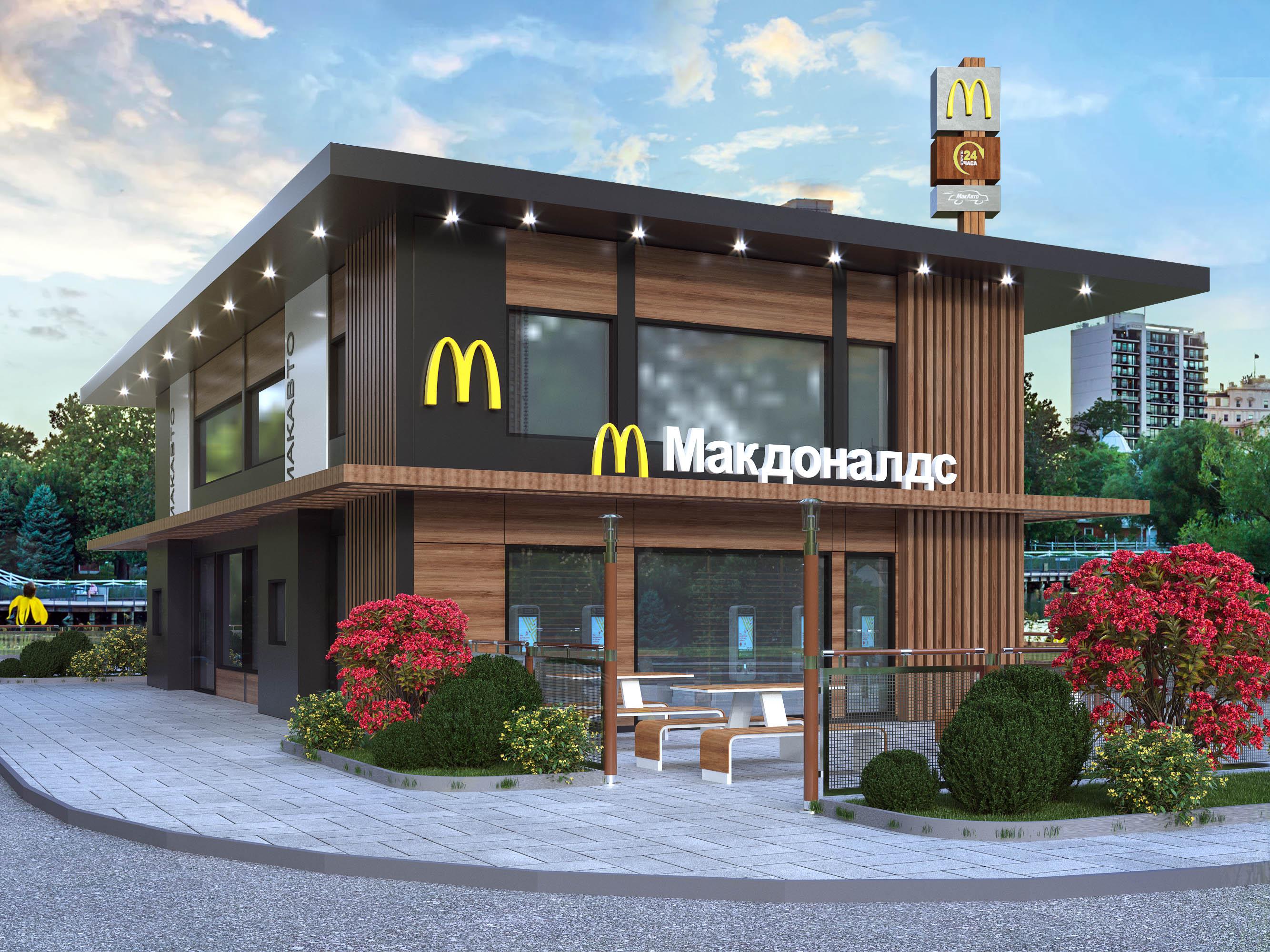 Визуализация McDonald's