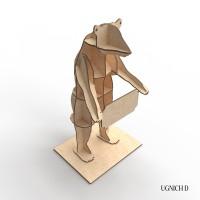 Медведь из фанеры