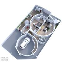 Силосная башня апартаменты
