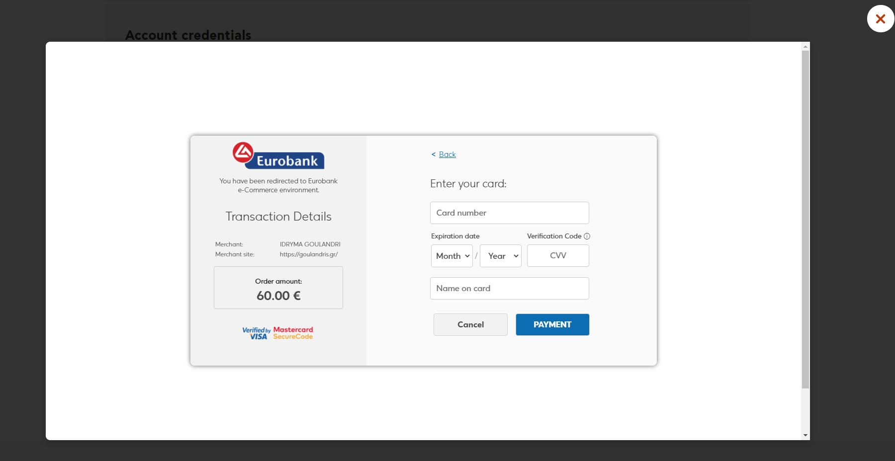 Платёжный шлюз и модуль оплаты для Craft CMS