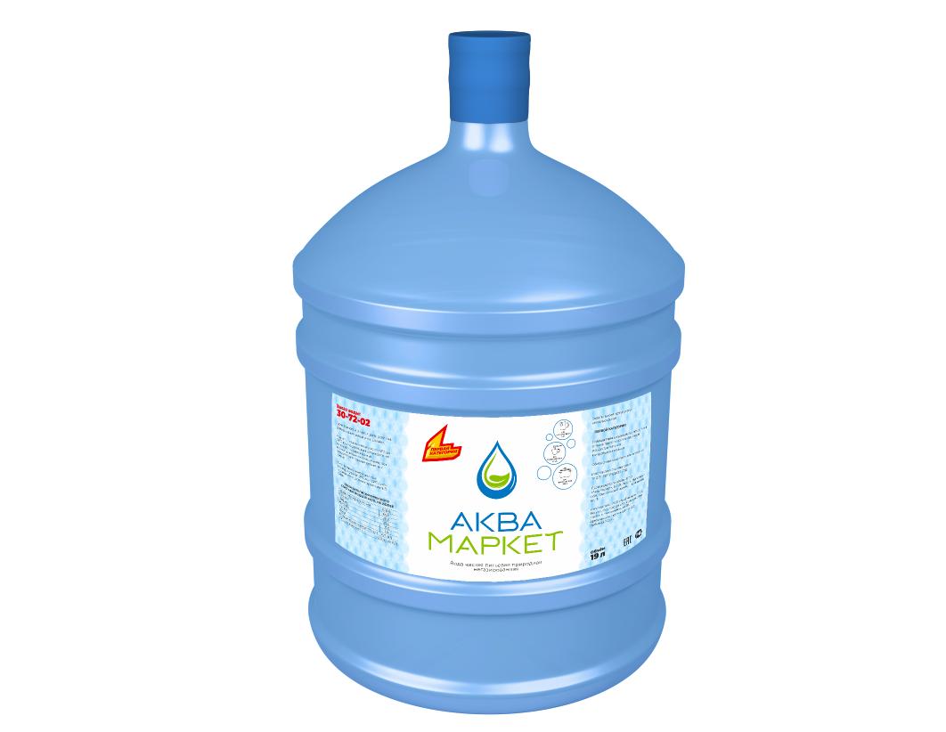 Разработка этикетки для питьевой воды в 19 литровых бутылях фото f_8715efc566868b24.png
