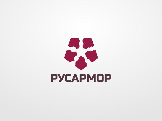 Разработка логотипа технологического стартапа РУСАРМОР фото f_0975a08c05e8b3d6.png