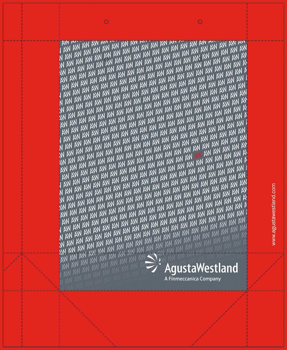 Бумажный пакет AugustaWestland (2)