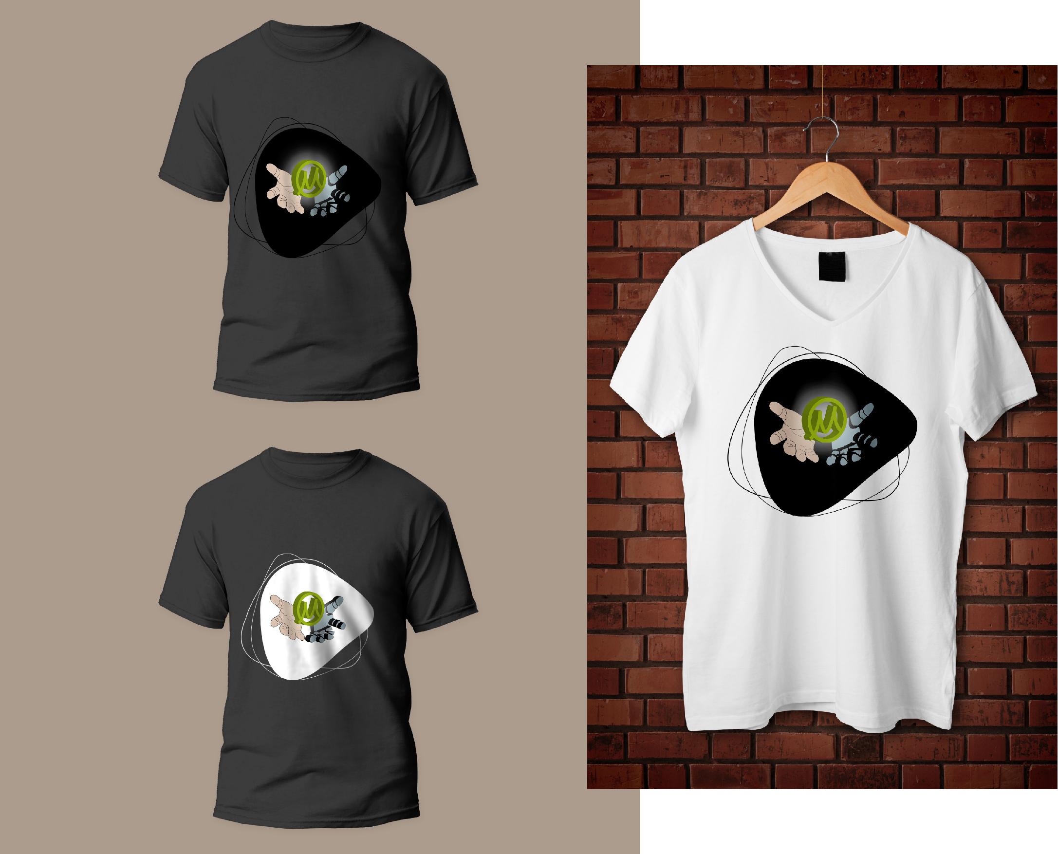 Нарисовать принты на футболки для компании Моторика фото f_732609cea27387f3.jpg