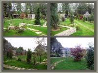 Ландшафтный дизайн садового участка с перепадом высот