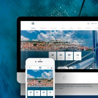 🛥 Сайт для компании Адриантик