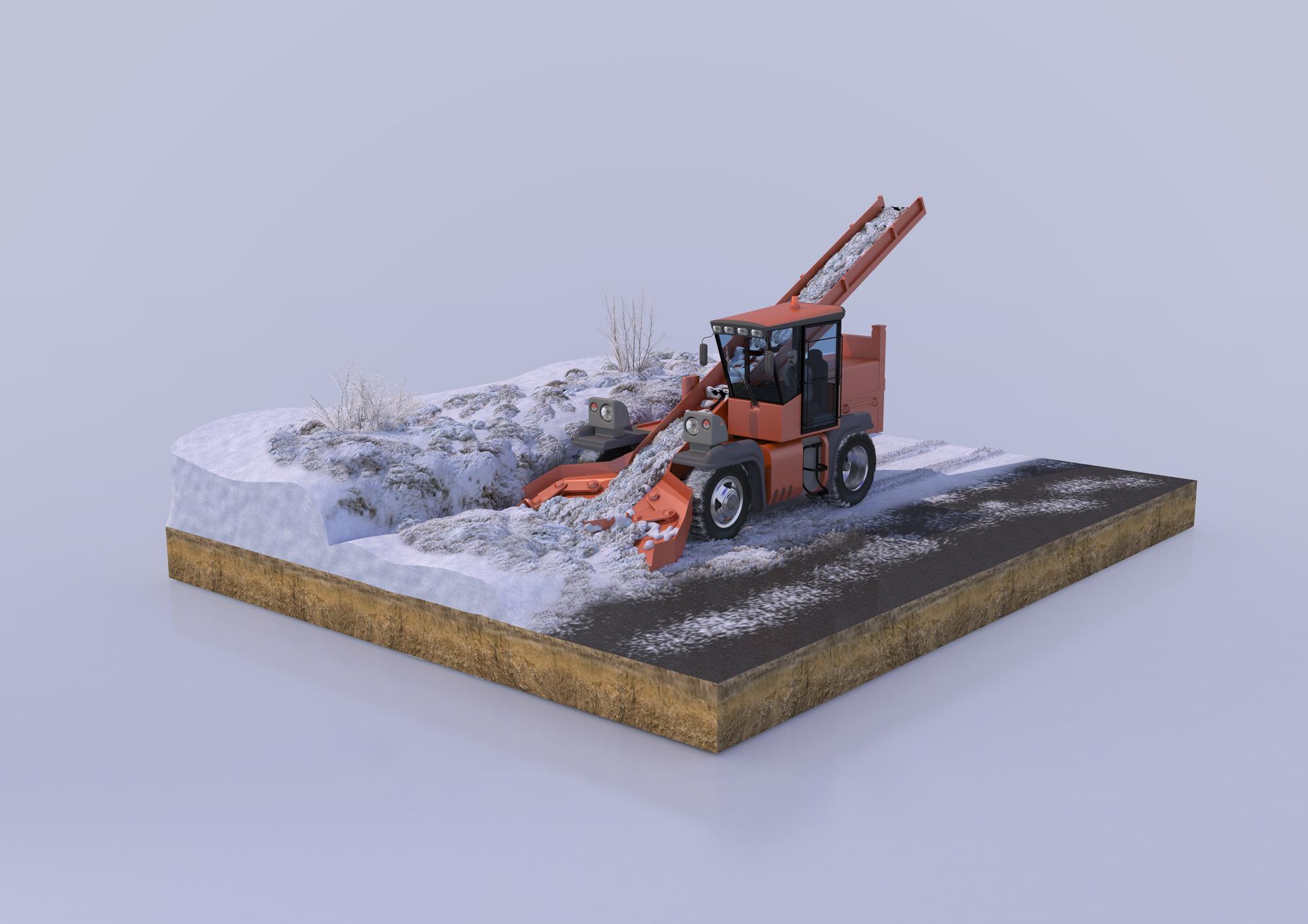 Снегопогрузчик