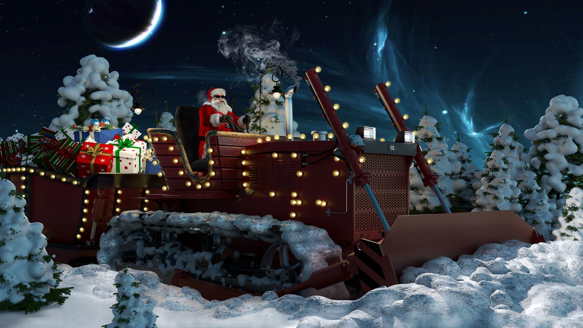 Санта рулит
