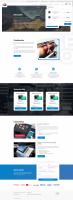 Корпоративный сайт (Printers service)