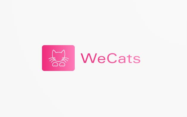 Создание логотипа WeCats фото f_1135f1bfce4b242e.png