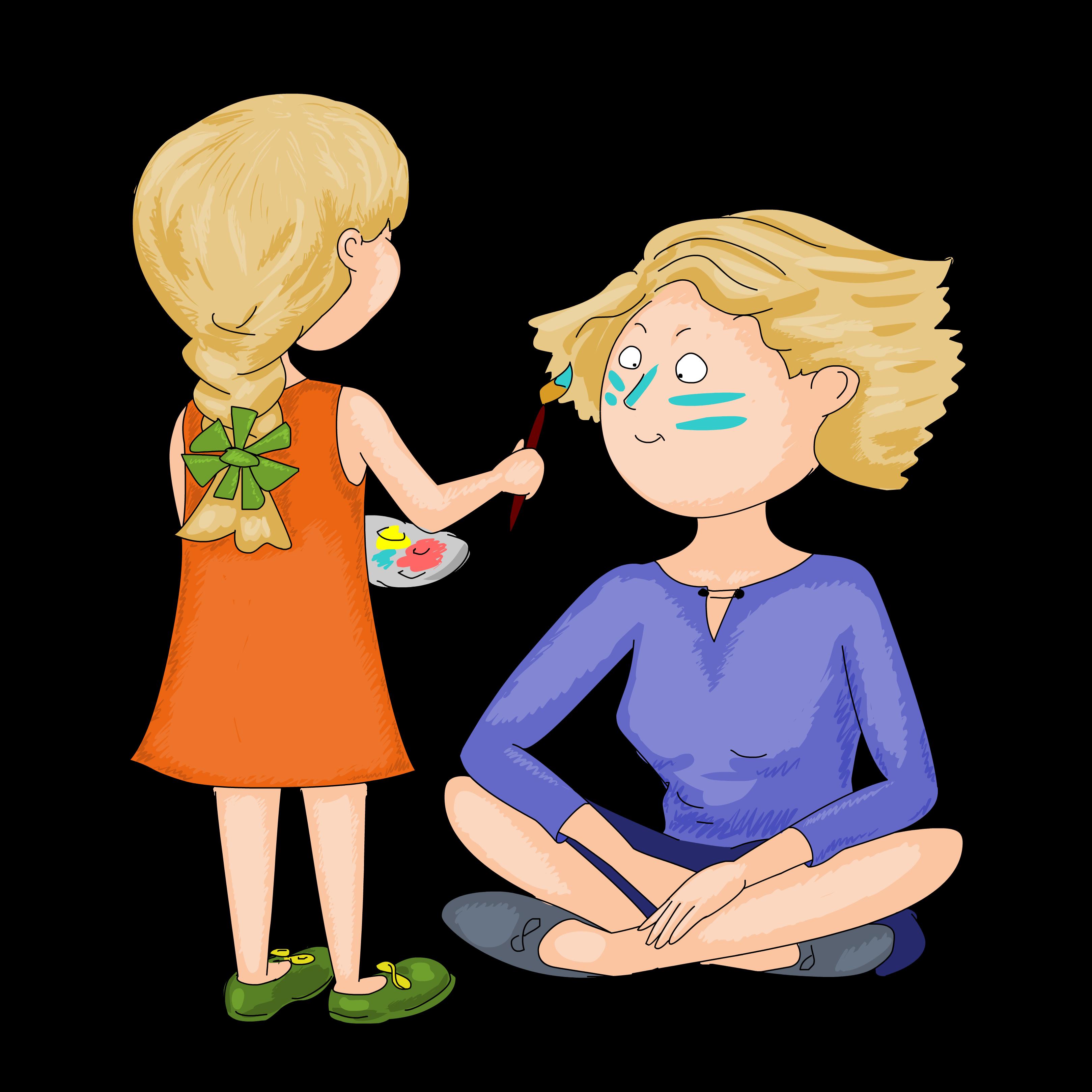 Персонаж для детского развивательного центра