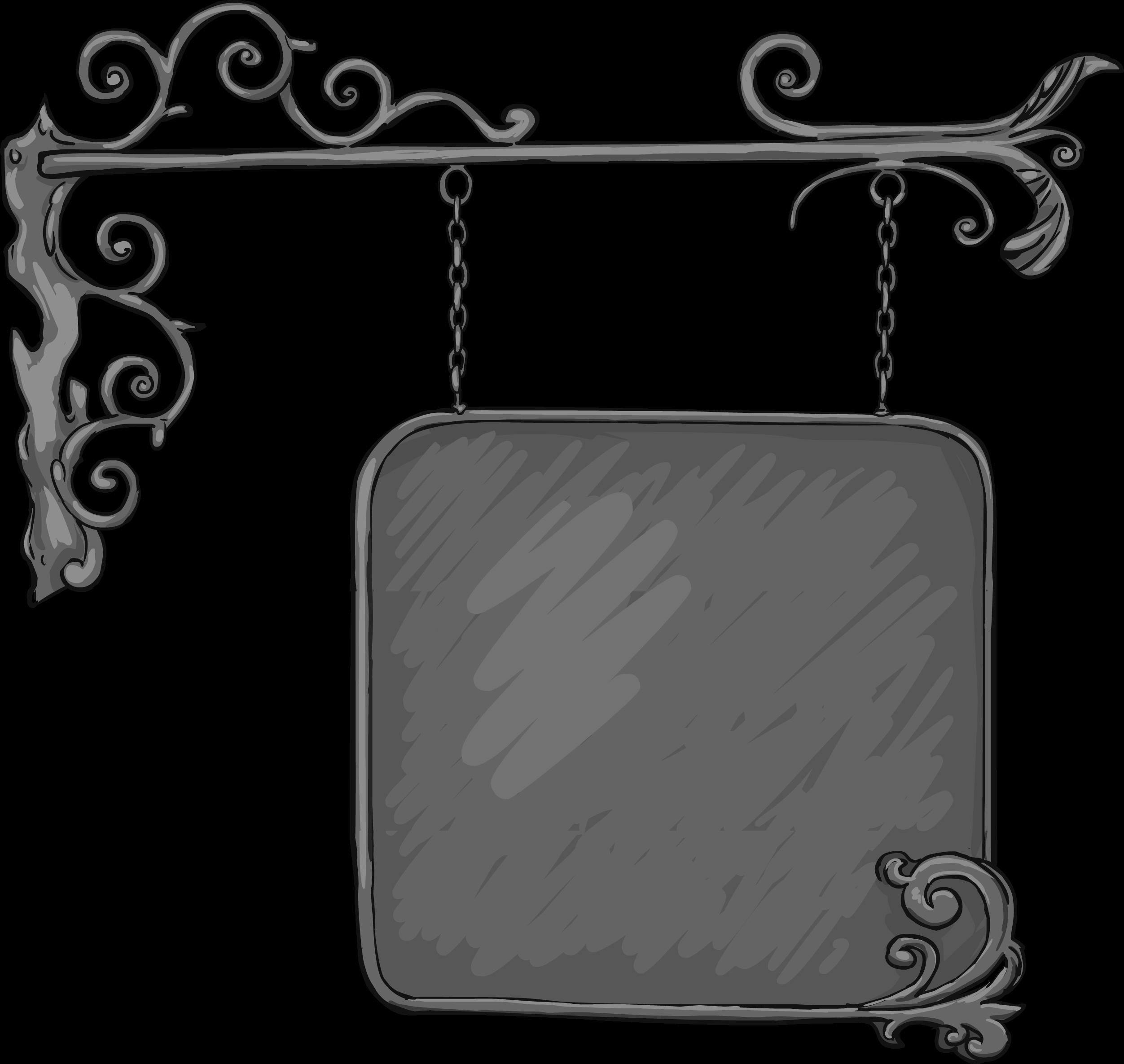 Вывеска - элемент сайта