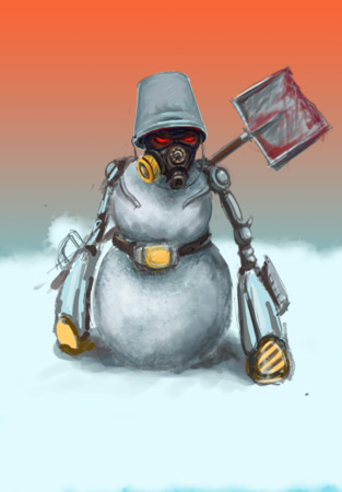 Снеговик =)