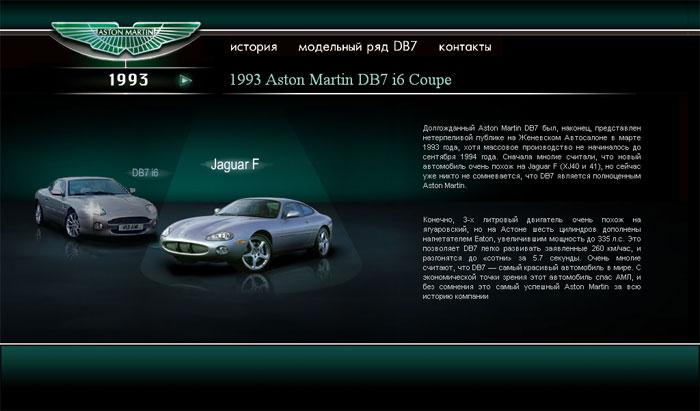 Aston Martin Vantage (история)